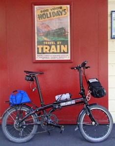 Paekakariki Station: Tern by poster