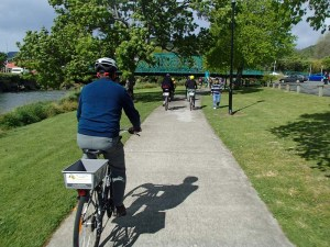 Matai river shared path
