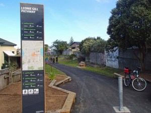 Leonie Gill pathway. Part of a bigger Eastern Suburbs network?