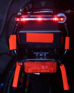 Bike lights and reflectors