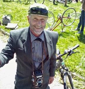 Alastair at Tweed ride