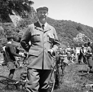 The spirit of Tweed: John Martin in his 1941 Swedish army uniform