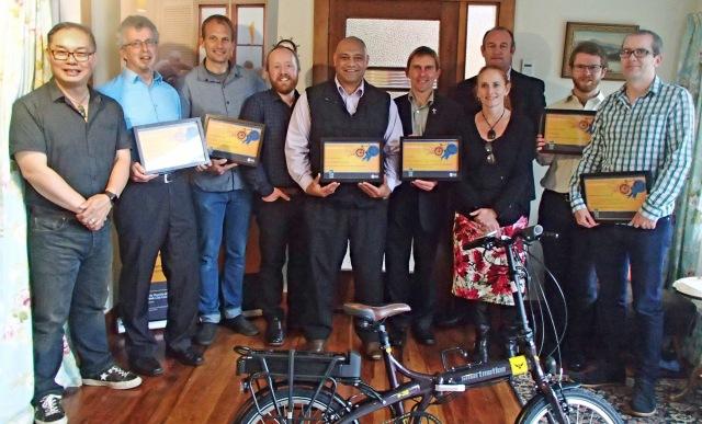 Roll on Wellington Award winners