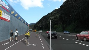 Hutt road - proposed layout