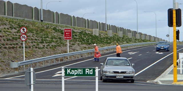 Kapiti Rd intersection