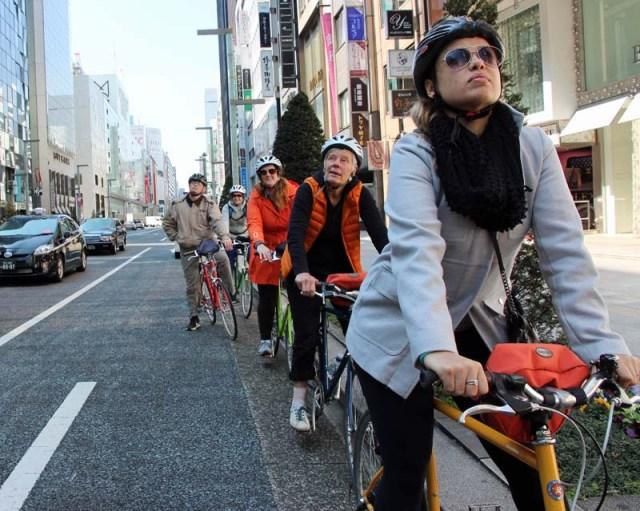 Tokyo Miracle bike tour