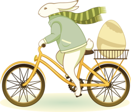 Easter-Bunny-Bicycle-Delivery